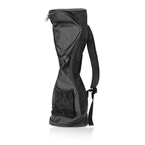 Waterproof Hover Board Bag Backpack for Smart Self Balancing Scooter Drifting Board,Mesh Pocket - Adjustable Shoulder Straps(Black)