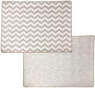 FUN n' SAFE (7170) Baby Foam Play Mat - Reversible, Innovative Cushioning, Patterns Theme