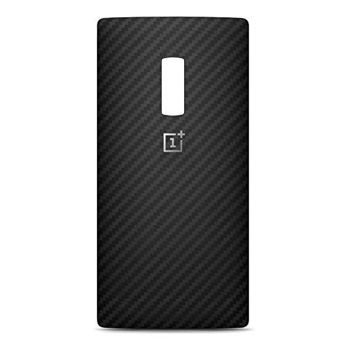 Original Oneplus Black Karbon StyleSwap Battery Back Cover Door for Oneplus 2 Retail Pack (Black)