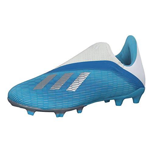 adidas Performance X 19.3 LL FG Fußballschuh Kinder hellblau/Silber, 35.5 EU - 3 UK - 3.5 US