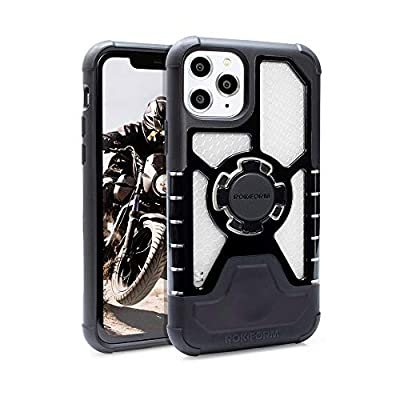Rokform - iPhone 11 Magnetic Case with Twist Lock, Crystal Slim Magnetic iPhone Case Series (Clear)