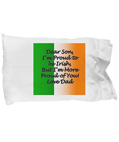 ReddyNow Irish Pillow Irish Case Women Travel Best Fighting Sheep Blessing Proverbs Prayer Personalize Hanukkah Birthday Anniversary St. Patrick Saint Paddy