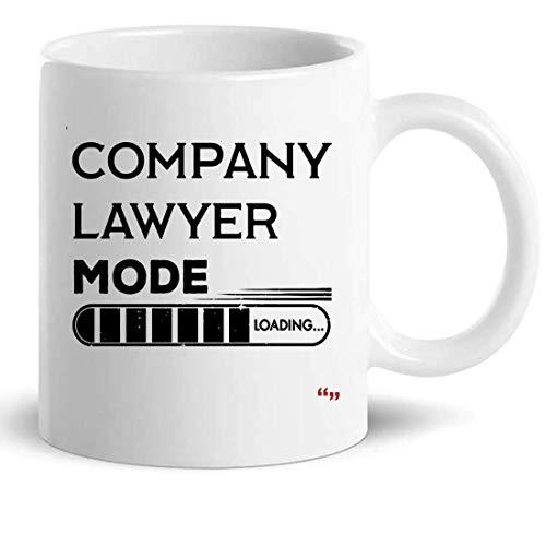 Empresa Abogado de la Copa taza de café 11oz - Colega regalo de cumpleaños para Hombres Mujeres