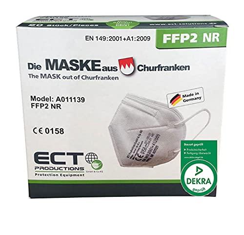COCO BLANCO FFP2 Masken CE Zertifiziert aus Deutschland I 20 Stück...