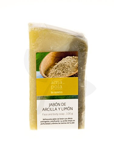 Amapola Bio Jabon Arcilla Y Limon 100 G 100 g