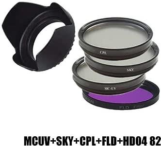 DynaSun Set CPL SKY FLD HD04 82mm Slim Circular Polarising Filter Pola...