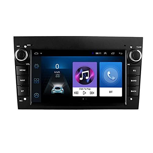 2.5D 2din Android Coche DVD Player Multimedia GPS Para Opel Astra ANTARA VECTRA CORSA ZAFIRA PARA MERIVA VIVARA VIVARO Combo Signum(Size:ocho núcleos,Color:WIFI:4GB+64GB)