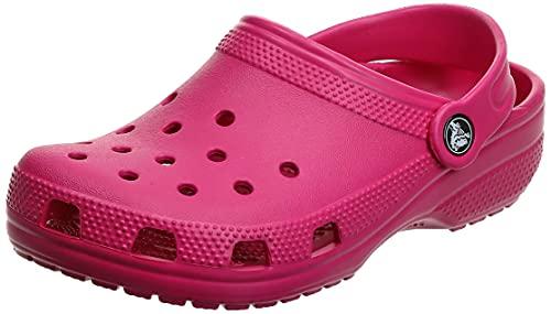 Crocs Classic Clog Unisex Adulta Zuecos, Rosa (Candy Pink), 38/39 EU
