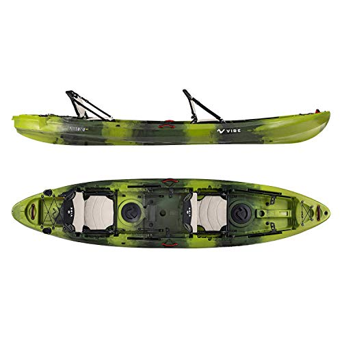 Vibe Kayaks Yellowfin 130T 13 Foot Tandem Angler...
