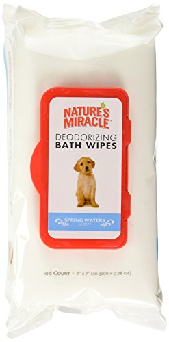 Nature's Miracle Deodorizing Bath Wipes