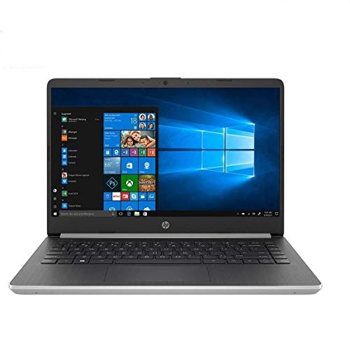 HP 14 Laptop Computer 14' IPS WLED-Backlit FHD 10th Gen Intel Core i5-1035G4 Up to 3.7GHz 16GB DDR4 RAM 512GB SSD 802.11AC WiFi Bluetooth 5.0 HDMI win10 Home Silver