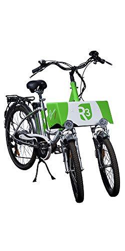 Triciclo Eléctrico Adultos 2 Ruedas Delanteras R3 con Batería extraíble de Ion-Lítio...