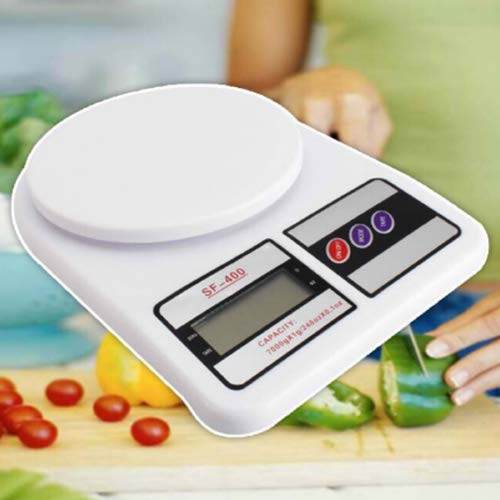 Glun Multipurpose Portable Electronic Digital Weighing Scale Weight Machine (10 Kg - with Back Light) 2