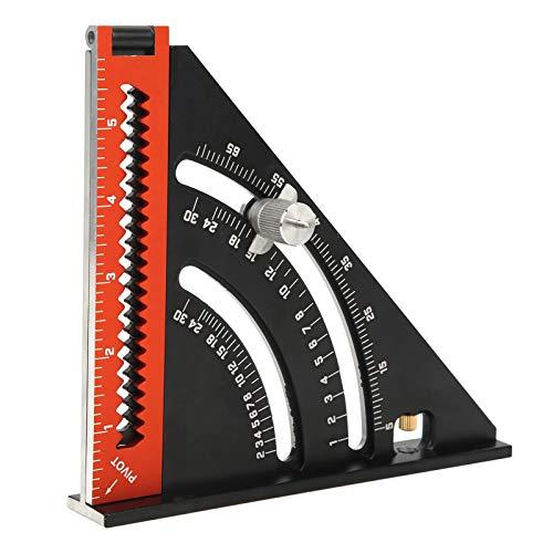 アングル定規、折りたたみ三角定規、大工木工に便利な高性能