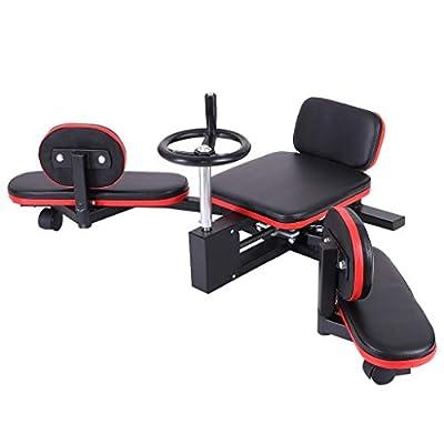 TANGNADE Leg Stretcher 330LBS Heavy Duty Gymnastic Flexibility Stretching Machine Stretch Strength Training Leg Machines for Home Gym
