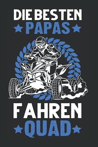 Quadfahrer Tagesplaner: Quad Papa ATV Vater Quadfahrer Quad Bike 4x4 / Kalender 2022 / Wochenplaner Tagesplaner Planer / Planungsbuch To-Do-Liste / 6x9 Zoll / 100 ausfüllbare Seiten