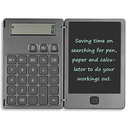"WXGZS Calculadora Tableta De Dibujo, 6.5"" LCD Electrónica Tablilla Tarjeta Gráfica Tablero De Dibujo Ultra Thin De Mano Portátil Regalos De Escritura"