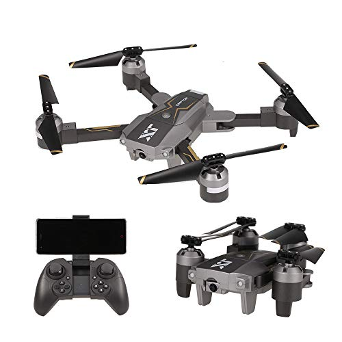 Goolsky X-Pack8 RC Quadrocopter Drohne mit 720P Weitwinkel Kamera Unterstützung Wifi FPV/Höhe Halten/ Optischer Fluss Positionierung/Höhe halten/App-Steuerung/G-Sensor/Headless-Modus/3D Flips