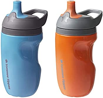 2-Count Tommee Tippee Insulated Sportee Toddler Water Bottle with Handle