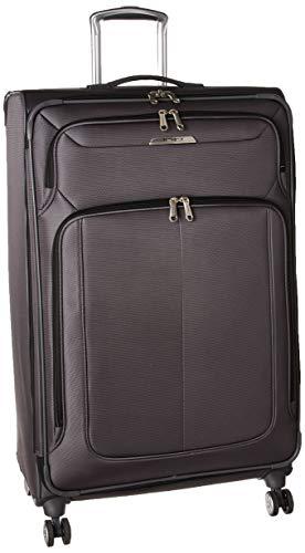 Samsonite SoLyte DLX Softside Luggage, Mineral Grey, Checked-Large