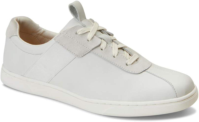 Vionic herrar herrar herrar Lono vit Leather  kundens första rykte först