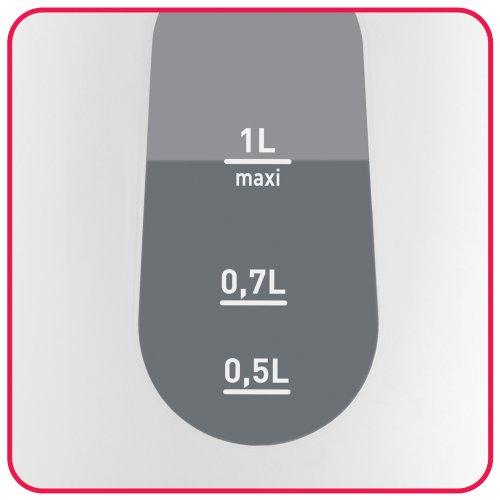 グループセブジャパン ティファール 電気ケトル ヴィテスネオ 1L ミモザ KO501JP 1台