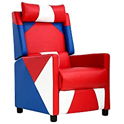 BestMassage Wingback Recliner Chair-best living room chairs for back pain