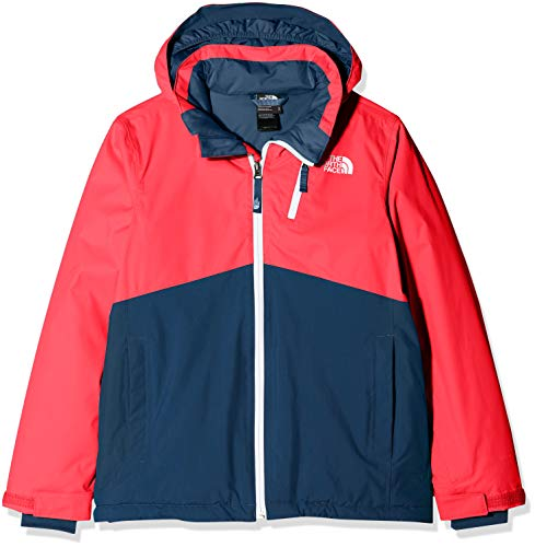 THE NORTH FACE Kinder Jacke Snowquest Plus, Rocket Red,  S,  T934Q4D5S