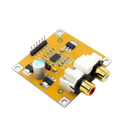 TOOGOO Pcm5102 Dac Decoder I2S Player Board 32Bit 384K Beyond Es9023 Pcm1794 für Raspberry Pi