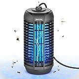 BIMONK Lampe Anti-Moustique, Piège à Insectes Volants UV, 4200V Électrique Destructeur de Moustiques, Destructeur Répulsif Insect Bug Zapper