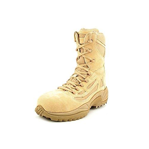Reebok Work Men's Rapid Response RB8894 Safety Boot,Tan,9.5 M US