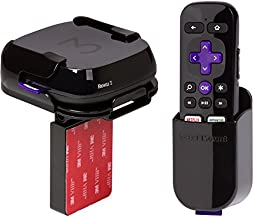 TotalMount Roku Mounting Shelf and Remote Holder (Compatible with Roku 3, Roku 2, and Roku 1)