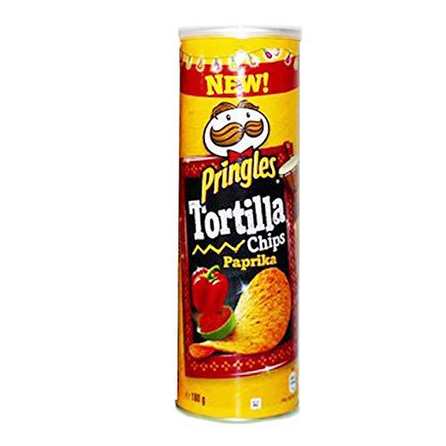 プリングルズ(Pringles) トルティーヤチップス ホットパプリカ160g