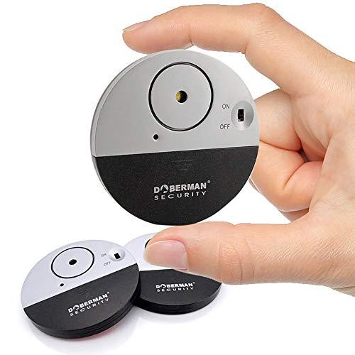 Door Window Alarm Home Security Magnetic Sensor Burglar Wireless Pool Alarm for Kids, Women, Elders, Easy Installation,Three Packs