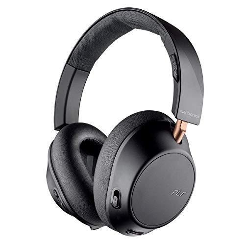 Plantronics BackBeat GO 810 BT Over-The-Ear Active Noise Canceling Headphones Graphite (Black) Bluetooth Headphones and Headsets