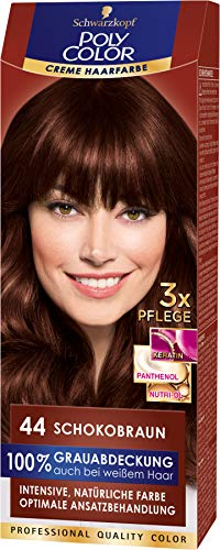 Schwarzkopf Poly Color Coloration 44 Schokobraun, 1er Pack (1 x 115 ml)