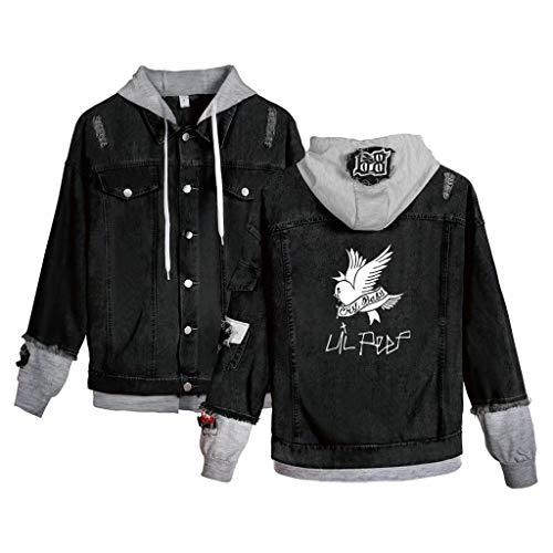 Denim Jacket Jeans for Men's Hip Hop