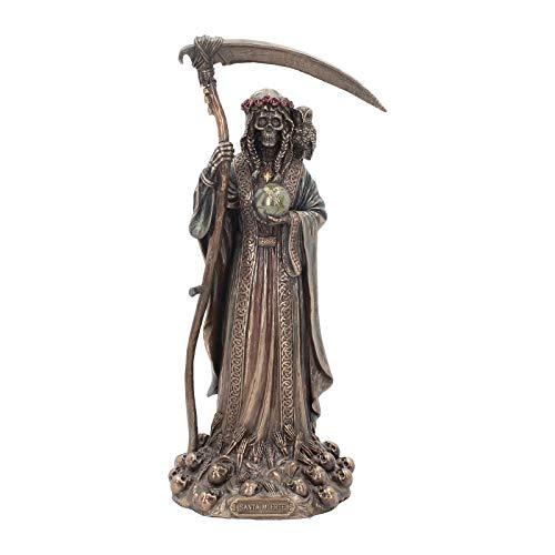 Nemesis Now Dekofigur Santa Muerte, 38 cm, Bronze