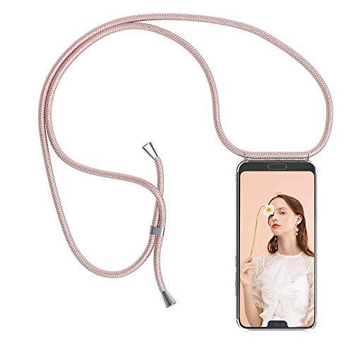 YuhooTech Handykette Hülle für Huawei Honor 8X Handyhülle, Smartphone Necklace Hülle mit Band - Handyhülle mit Kordel Umhängenband - Schnur mit Hülle zum umhängen