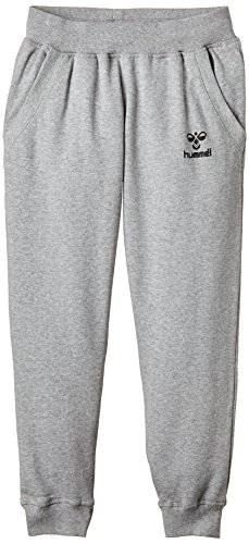hummel Jungen Classic Bee Sweat Pants, Grey Melange, 10 (140)