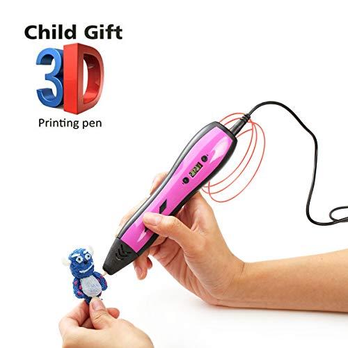Bluce 3D-stylus met LCD-display, compatibel met 1,75 millimeter PLA/ABS-filament, types voor crafting, kunst en model, Bene om zelf te maken