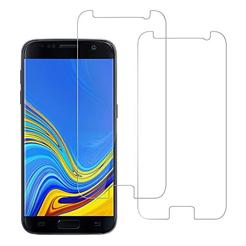 HuwaiH [2 Stück] Panzerglas Schutzfolie für Samsung Galaxy S7, HD Panzerfolie, 9H Härte Panzerglasfolie, Anti-Kratzen, Ultrabeständig, Perfekte Passform, Einfache Installation