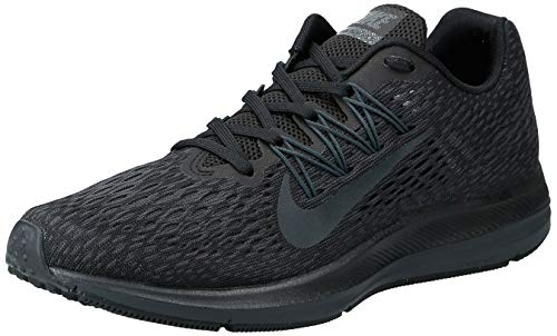 Nike Women's Air Zoom Winflo 5 Running Shoe, Black/Anthracite, 9.5