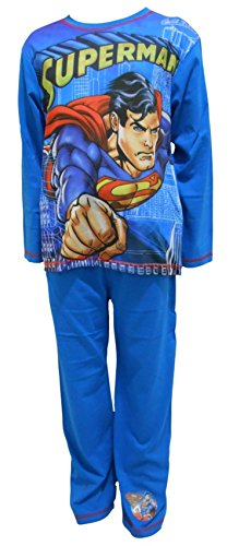DC Comics Superman Jungen Schlafanzug 5-6 Jahre