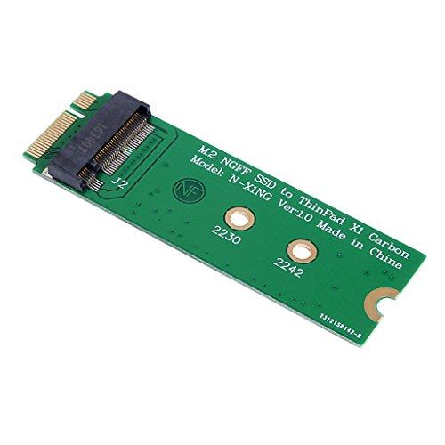 gazechimp M.2 NGFF SSD Para 20 + 6pin 26pin SSD Adapter Card Para Lenovo ThinkPad X1 Carbon