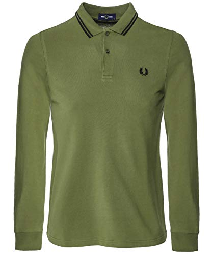 Fred Perry Fp LS Twin Tipped Shirt Camiseta térmica para Hombre