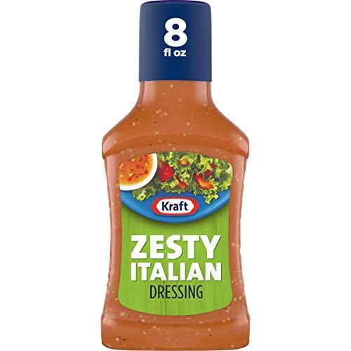 Kraft Zesty Italian Salad Dressing (8 fl oz Bottles, Pack of 9)