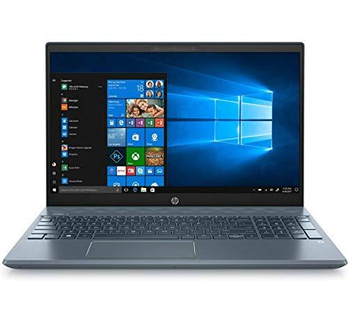 2020 Newest HP Pavilion 15.6' FHD Touchscreen Laptop, 8th Gen Intel Quad-Core i7-8565U Up to 4.6GHz, 16GB DDR4 RAM, 1TB HDD, GeForce MX250 4GB, WiFi, Bluetooth 5.0, Fog Blue, Windows 10 (Renewed)