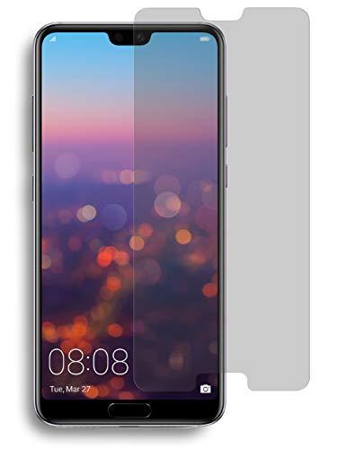 MyGadget Blickschutz Panzerglas Folie für Huawei P20 Pro - Anti Spy 9H Glasfolie [Hüllen kompatibel] Sichtschutz Privacy Protector Display Schutzfolie