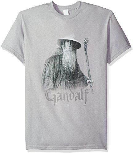 LOR Gandalf el Gris Mens Camisa Manga...